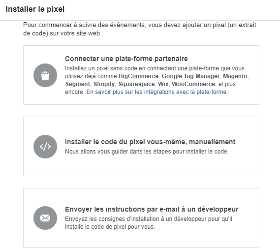 Les 3 façons d'installer le pixel Facebook sur un site web